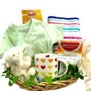 Mom and Baby Gift Basket