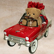 Red Roadster Gift Basket